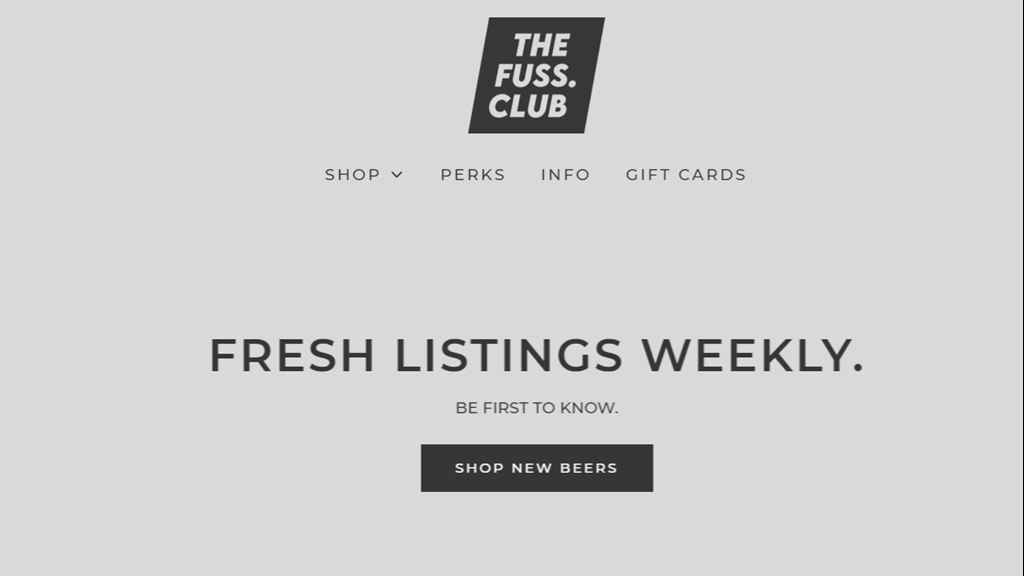 LAUNCHING: THE FUSS.CLUB